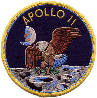 Apollo 11 Space Embroidered Patch