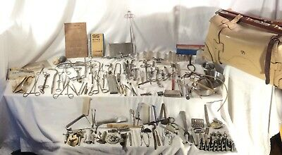 Vintage Surgical Tools Lot- 18th & Early 19th Century Duniger Estaneedle Tiemann