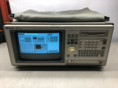HP / Agilent 1661C 102-Channel Benchtop Logic Analyzer w/ Software, Probes