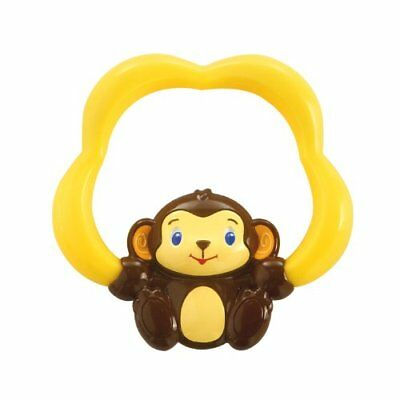 New Baby Infant Newborn Toddler Fun Cute Soothing Safari Teether Chewing Toy