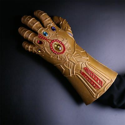 2018 Infinity War Cosplay Thanos Infinity Gauntlet Armor Avengers Thanos Gloves