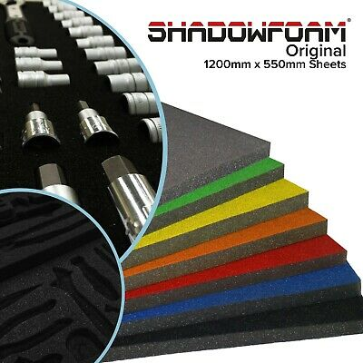 Shadow Foam Sheet | Dual Colour Black & Grey Foam | Foam Drawer Insert