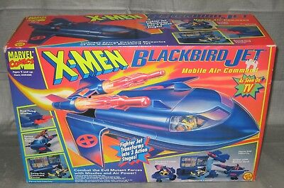 1994 X-Men Blackbird Mobile Air Command Jet - New In Unopened Package - Rare