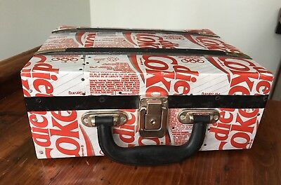 One Of A Kind Diet Coke Lunchbox 1992 Olympics French Cartoon On Interior!