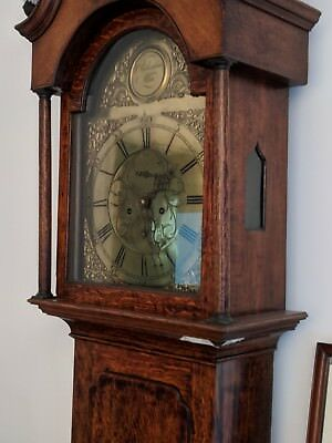 c1780 William Richardson Alloa Antique Longcase Grandfather Clock