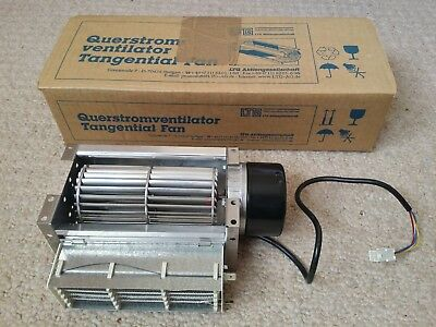 "5"" tangential 24V fan with mains 1.5kW heater - LTG TAR h 60/145/24VDC"