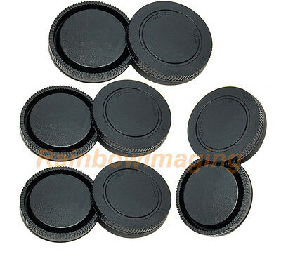 5 x Lens Rear Caps and Body Cap for  Sony E-Mount  α7II α7S II α7R II α7S α7