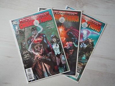 DC - The Search For Swamp Thing 2011 Limited Series #1 #2 #3 [FN/VF]