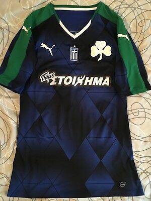 Panathinaikos Athens Chouchoumis Greece match worn/issued Sammlungsauflösung