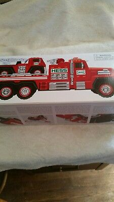 2015 Hess Collectible Toy Fire Truck and Ladder Rescue new in box NIB