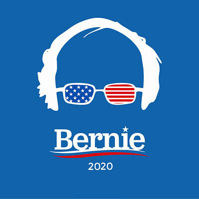 PACK OF 10 - Bernie Sanders 2020 Stickers - Free Shipping! -YUUGE Deal! 10 PACK