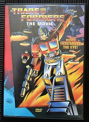 The Transformers The Movie DVD 1995 Excellent Condition FREE SHIP
