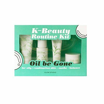 Glow Studio Oil Be Gone K-Beauty Routine Kit