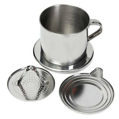 Vietnam Vietnamese Stainless Steel Coffee Filter Cup Drip Maker Infuser Handle