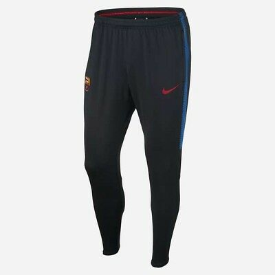 Nike FC Barcelona Men's Dri Fit Squad Football Pants New With Tags 904685 010 M