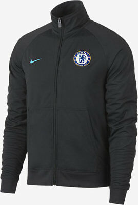 Nike Chelsea FC Men's Authentic Jacket 2017/2018 Anthracite New 905498 064 M