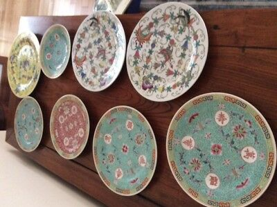 Vintage Chinese Plates