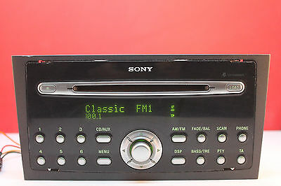 ford mondeo sony 6 cd changer cd radio stereo with code. Black Bedroom Furniture Sets. Home Design Ideas