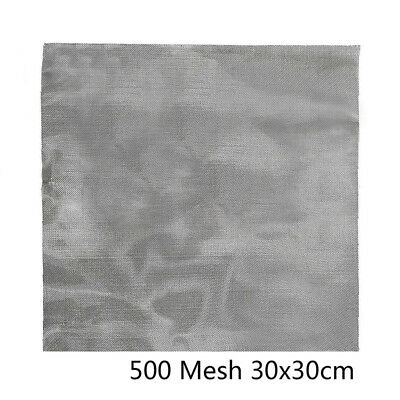 "500 Mesh Stainless Steel 12*12"" 30*30cm Safe 27 Micron Hole Woven Wire Odorless"
