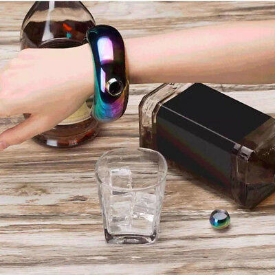 3.5oz MIni Hidden Booze Smuggle Bracelet Wine Pot Bangle Flask Jewellery Lot X1