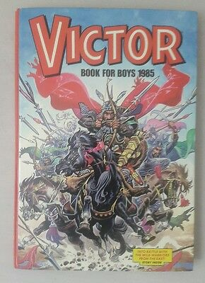 Victor Book For Boys Vintage Annual 1985