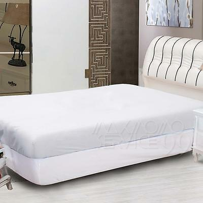 1000TC Ultra Soft Fitted Sheet Queen/King Bed New Quick sheets Elastic band New