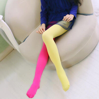 Candy Color Girls Pants Velvet Tights Trousers Pantyhose Children's Clothing new