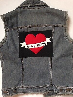 "Moschino Jeans Vintage Gilet ""Heavy Beauty"" tg. 44"