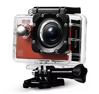 Elephone Sport Camera 4K@30fps 16MP WIFI Action Camera with Waterproof Case