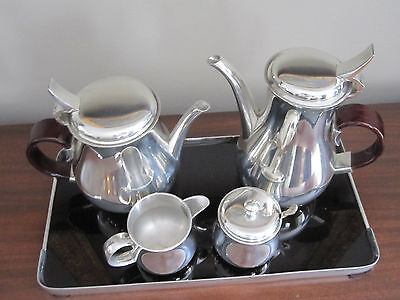 Pewter Tea and Coffee service by Gerald Benney