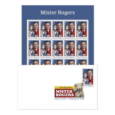 USPS New Mister Rogers Keepsake