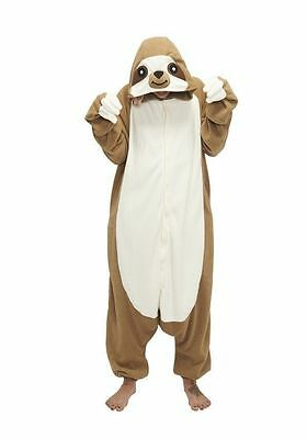 Sloth Kigurumi Anime Cosplay Pyjamas Costume Onesie1 Adult jump Fancy Dress w-W