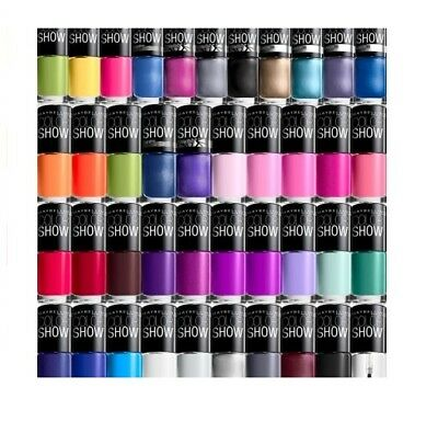 MAYBELLINE COLOR SHOW VERNIS A ONGLE DIVERS COULEURS 7 ml COLORSHOW
