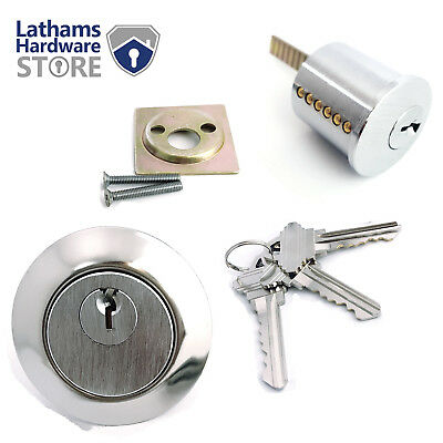 Replacement Rim Cylinder Door Lock 6 Pins for Night Latch - Yale / ERA fitment