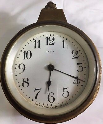 Wall Antique Pre 1930 Clocks Collectibles Page 9