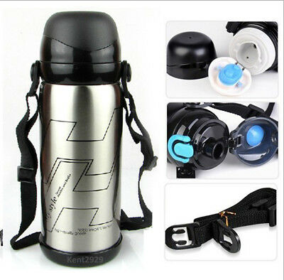 Stainless Steel Vacuum Coffee Thermos Flask Insulated Water Bottle Travel Mug