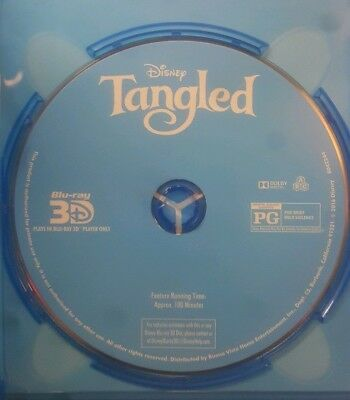 Tangled ( Blu-ray 3D + DVD) *Brand New *Discs only *FREE GIFT!!!
