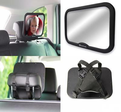 Shatterproof Safety Rearview Baby Car Seat Mirror