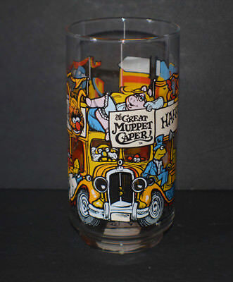 McDonald's The Great Muppet Caper Glass Cup