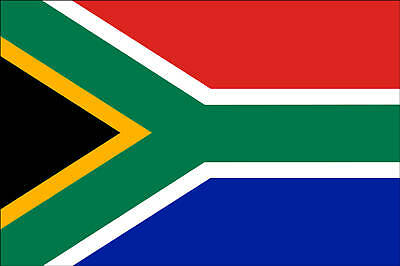 SOUTH AFRICAN NATIONAL FLAG OF SOUTH AFRICA 5 X 3 LARGE QUALITY FLAG Polyester