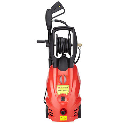 Pressure Washer Power  Jet Cleaner 2400W Motor 165 Bar Pump  2392.5PSI  5M Hose