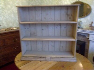 Old Pine Book Shelves.