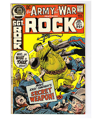 OUR ARMY AT WAR # 238 in VF/NM grade 1971 DC WAR comic w/ SGT ROCK  52 pg Giant