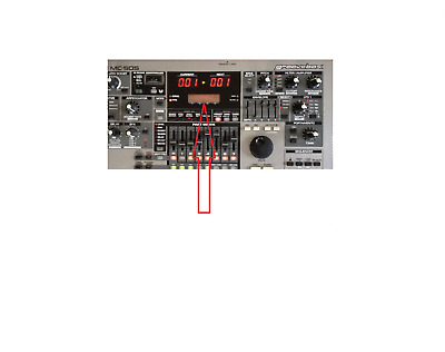 Roland (Genuine) Mc-505 Groovebox Lcd Screen Display Replacement Spare Part