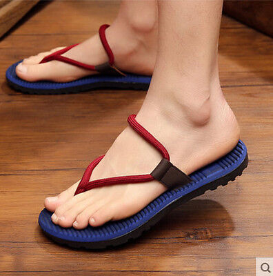 Summer Beach Mens Sandals Casual Shoes Flip Flops Leisure Slippers Mules Stylish