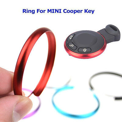 Key Fob Aluminum Replacement Ring For 08 Mini Cooper JCW R55 R56 R57 R58 R59 R60