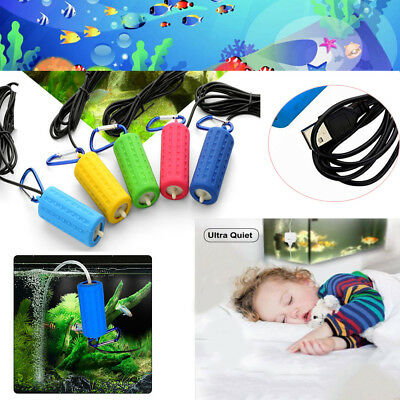Mini USB Aquarium Oxygen Air Pump Fish Tank Silent Mute Energy Saving Tools