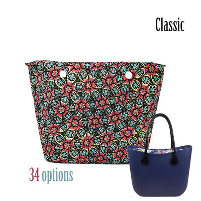 ab152648bb03 New Colorful O bag waterproof Insert Canvas Zipper Pocket for Classic big  Obag
