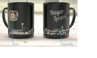 "Bayer 04 Leverkusen Kaffeebecher /""Magic/"" Fanartikel Tasse Becher"