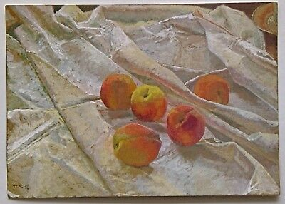 Peaches by Jacqueline Rizvi Postcard (P277)